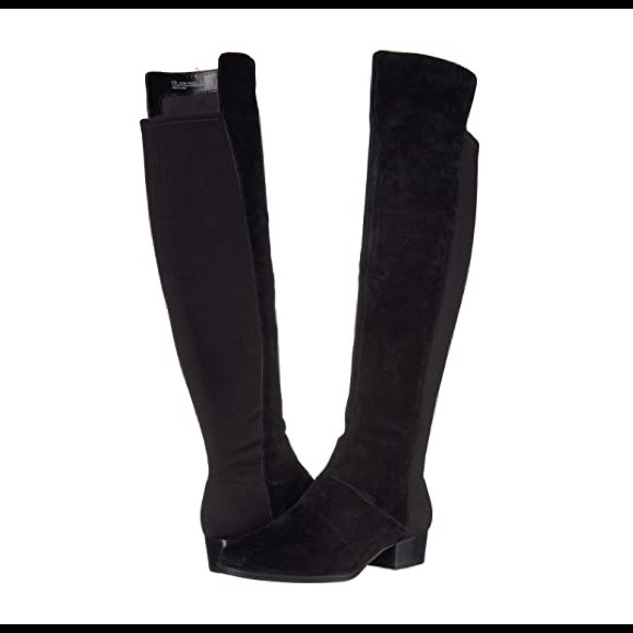 Black Cross Country Over The Knee Boot